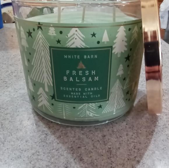 Bath & Body Works Fresh Balsam Candle